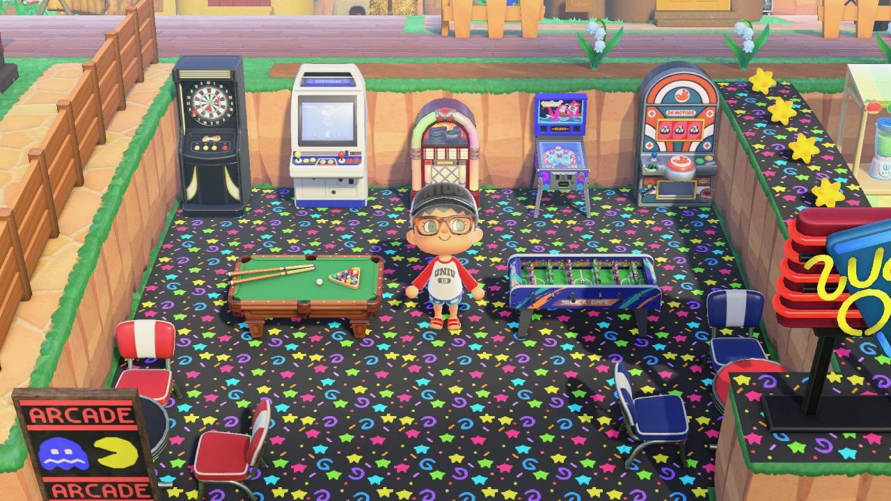 Arcade and Smoothy Bar Animal Crossing New Horizon2