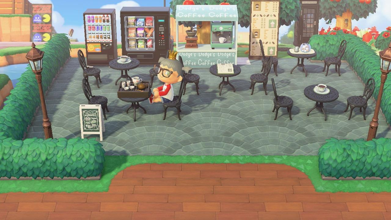 The design outside Graham House in Animal Crossing New Horizon