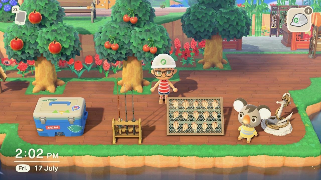 Fishing Area Design Animal Crossing New Horizon