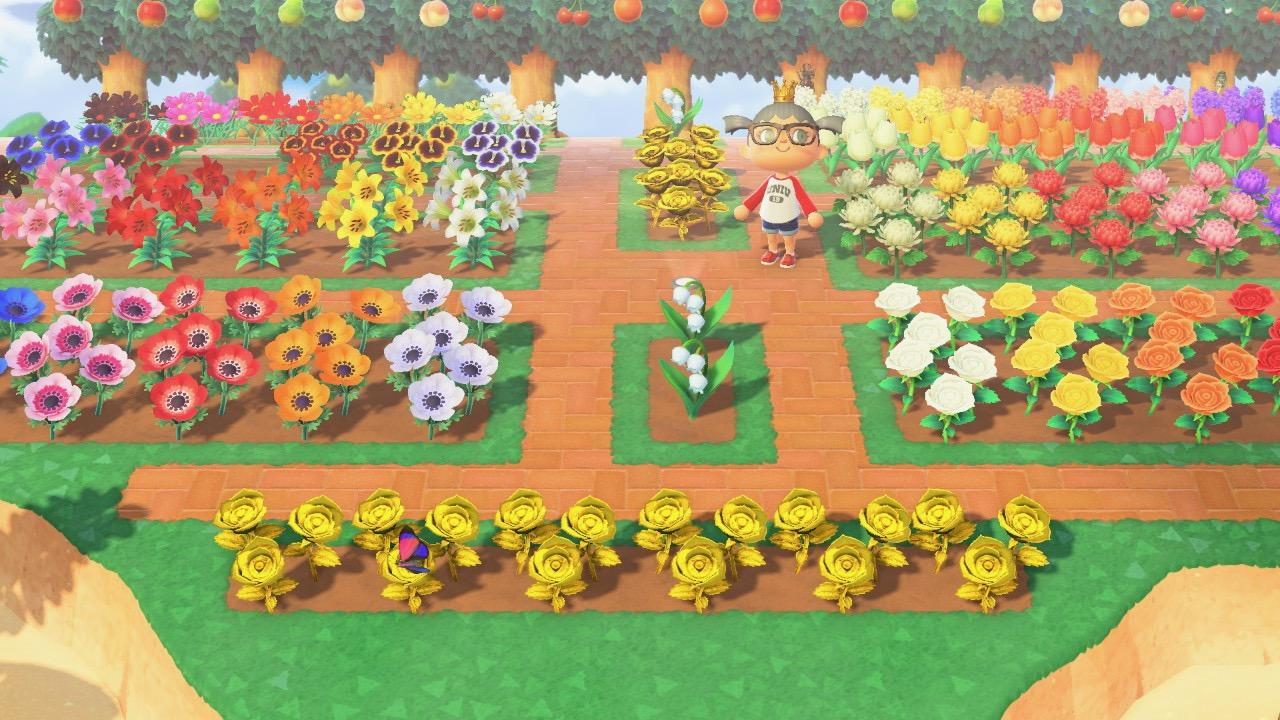Animal Crossing New Horizon Flowers And Hybrids Animal Crossing New Horizons Design Inspiration
