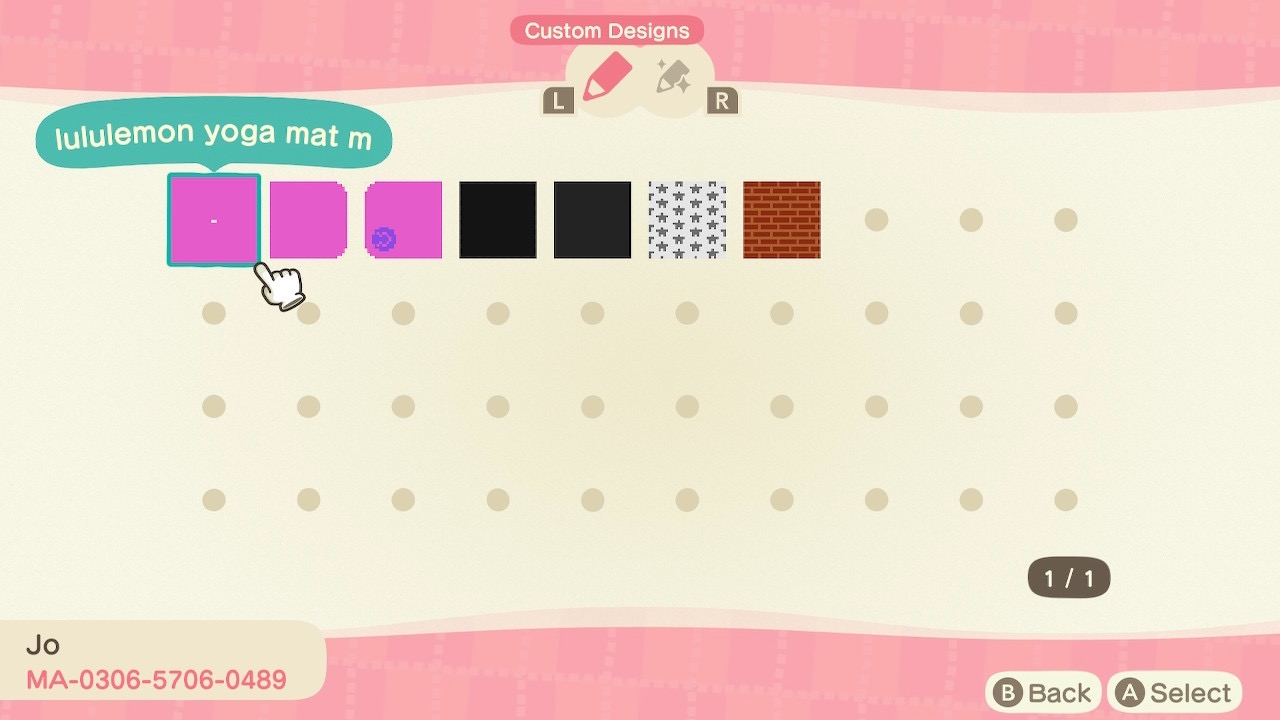 My grey and white star bedroom design in Animal Crossing New Horizon