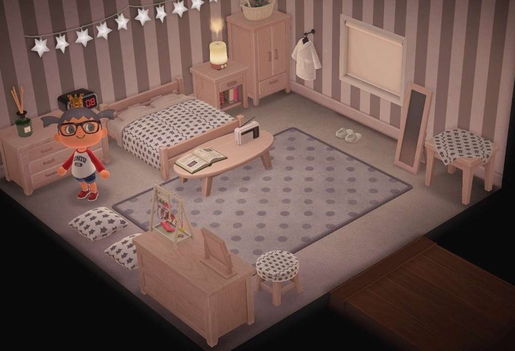Animal Crossing New Horizons Bedroom Design Inspiration Animal Crossing New Horizons Design Inspiration