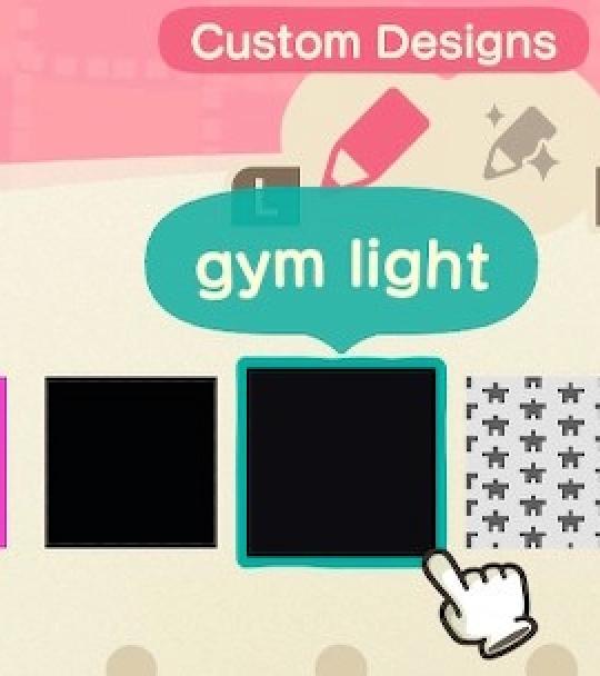Animal Crossing Gym Floor Design Code